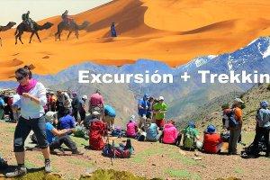 Montaña + desierto 4 días, 2 días de Trekking y 2 en 4x4