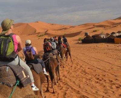 Excursión al desierto de Merzouga y Zagora - 4 días