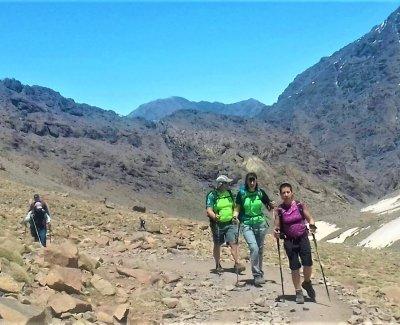 3 Cimas más altas Toubkal, Timesguida y Ras