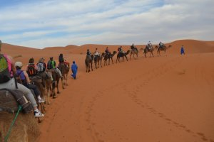 Excursión al desierto de Merzouga 3 días