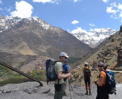 Trekking de un día por la zona del Toubkal - El Valle de Imlil y Aremd